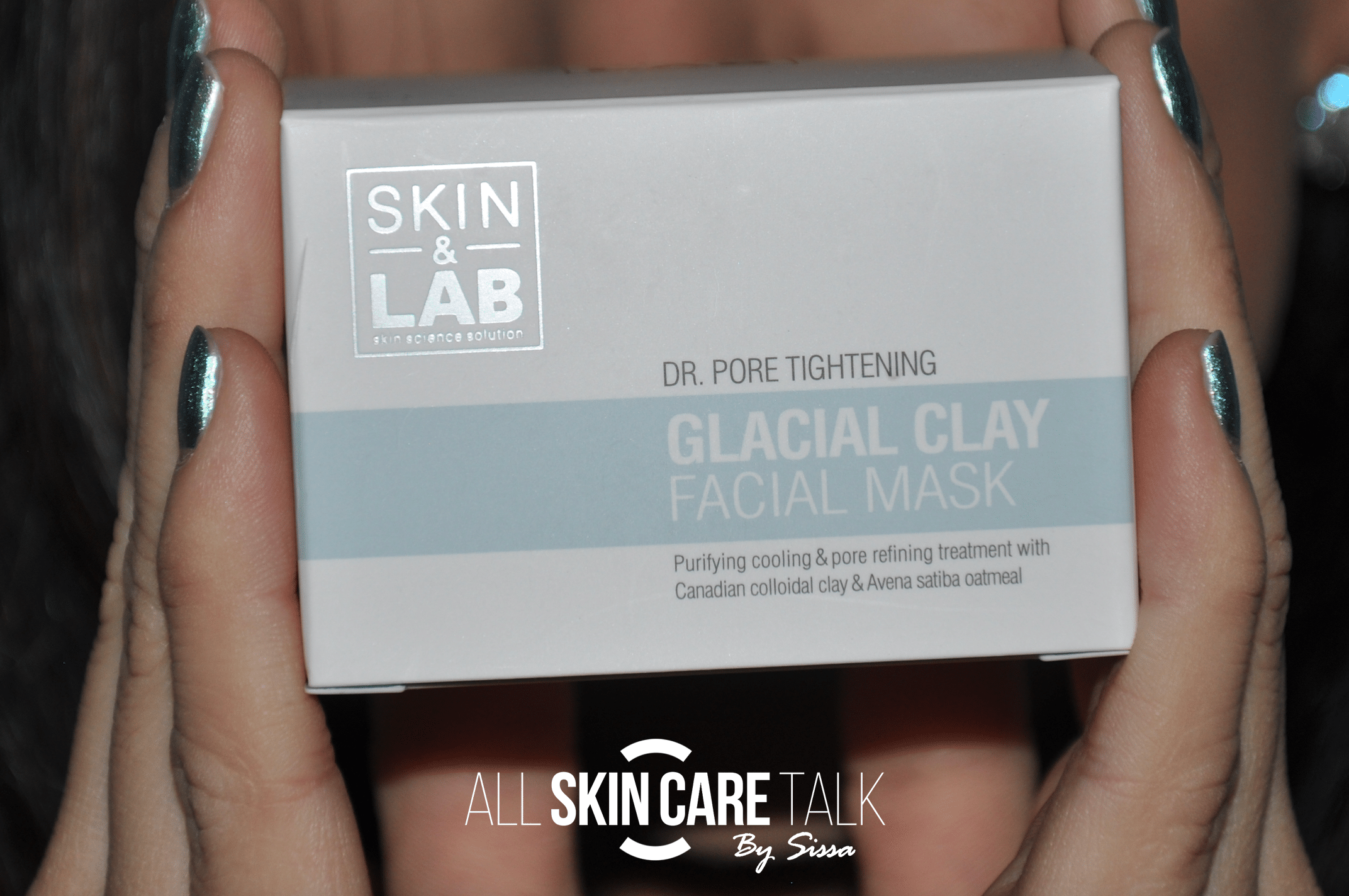 Dr. Pore Tightening Glacial Clay Mask Packaging
