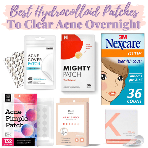 Hydrocolloid Bandages For Acne