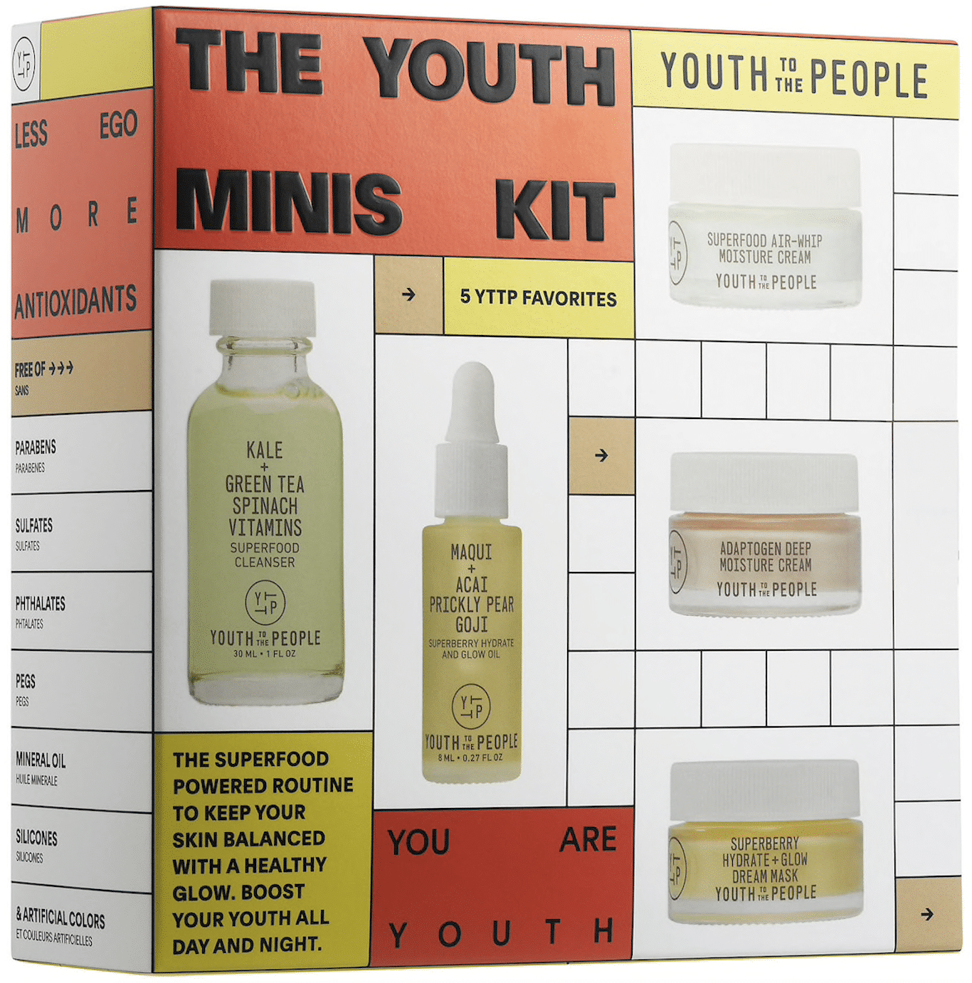 Youth To The People Sephora Skin Care Set